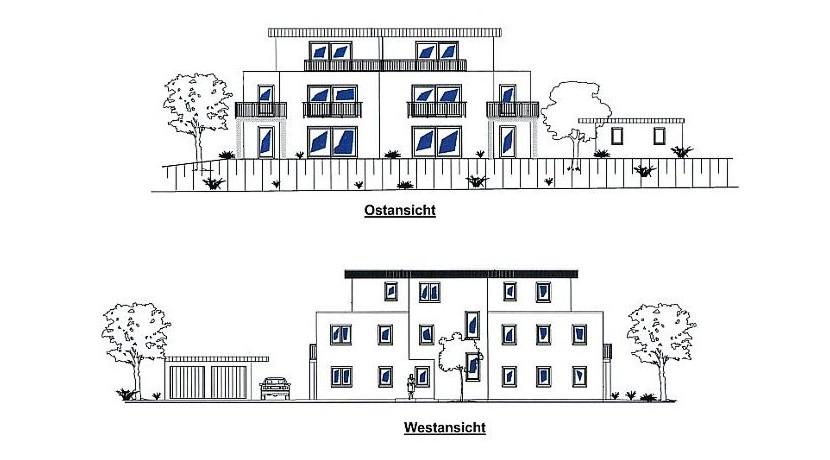 Neubau-Wohnung in St. Paul – 2 Zimmer, Küche, Bad