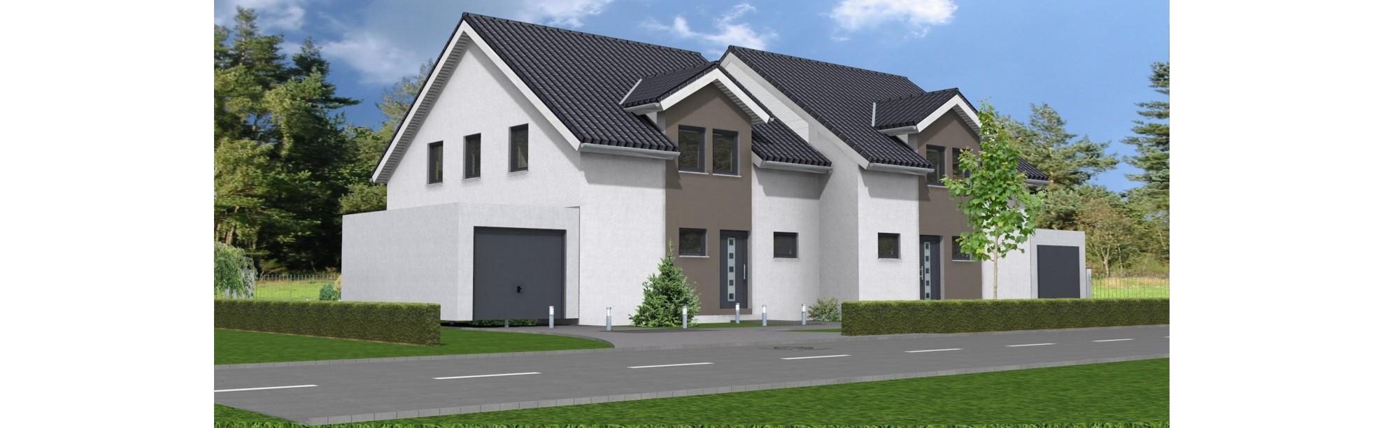 Neue bezugsfertige Doppelhaus-Hälfte in Wittlich/Altrich