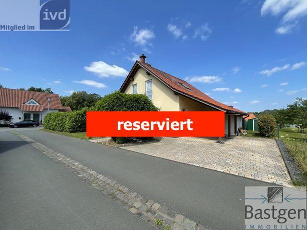Hasborn bei Wittlich-Einfamilienhaus mit Pelletsheizung